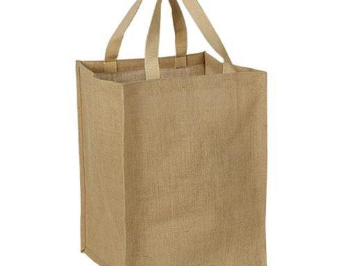 Jute & Cotton Tote Bag
