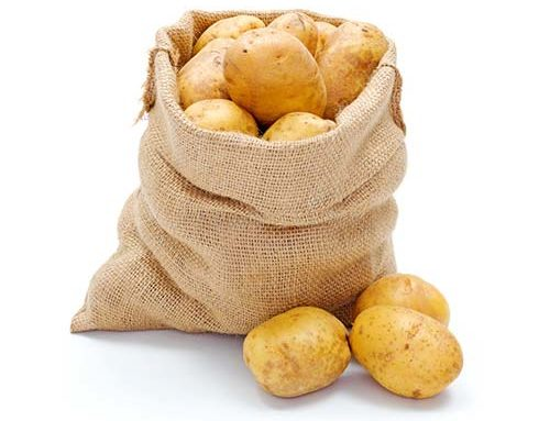 Jute Onion Bag